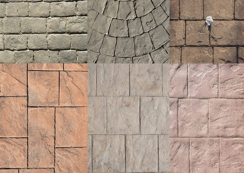 exemples beton decoratif