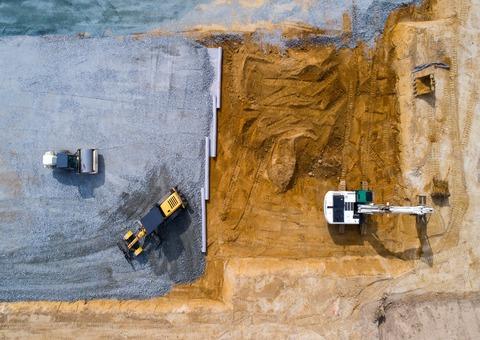 materiel terrassement